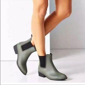 Sam Edelman Tinseltown Olive Rain Boots
